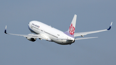 B-18655 - Boeing 737-8Q8 - China Airlines
