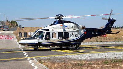 CP-6 - Agusta-Westland AW-139 - Cyprus - Police