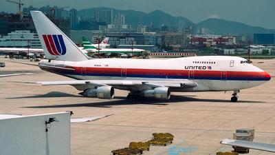 N140UA - Boeing 747SP-21 - United Airlines