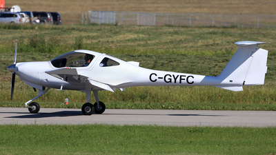 C-GYFC - Diamond DA-20-C1 Eclipse - Diamond Aircraft Industries