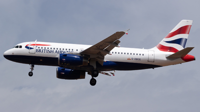 G-DBCG - Airbus A319-131 - British Airways