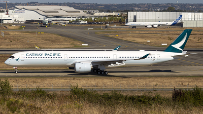 F-WZNL - Airbus A350-1041 - Cathay Pacific Airways