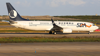 A picture of B1359 - Boeing 73785N - Shandong Airlines - © Jeremy Takigawa