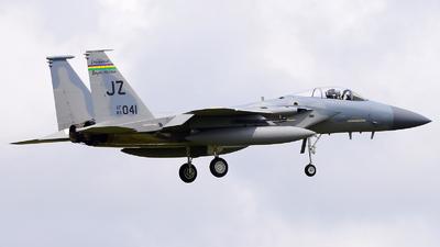 83-0041 - McDonnell Douglas F-15C Eagle - United States - US Air Force (USAF)