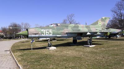 365 - Mikoyan-Gurevich MiG-21bis SAU Fishbed N - Bulgaria - Air Force