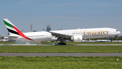 A picture of A6ENN - Boeing 77731H(ER) - Emirates - © Stefan Mieszkowski