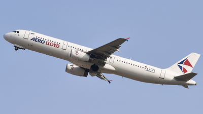 D-ALAG - Airbus A321-231 - Aero Lloyd