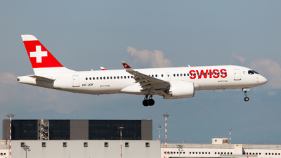 HB-JCP - Airbus A220-300 - Swiss