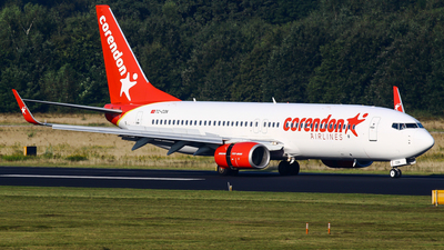 A picture of TCCON - Boeing 73781D - Corendon Airlines - © C. v. Grinsven