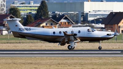A picture of N269LG - Pilatus PC12/45 - [633] - © Hugo Schwarzer