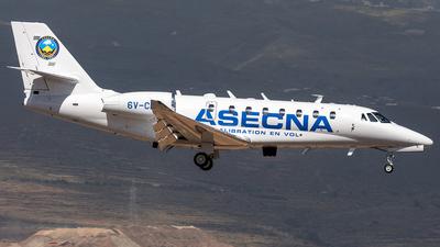 A picture of 6VCEV - Cessna 680 Citation Sovereign+ - [6800587] - © Adolfo Bento de Urquía