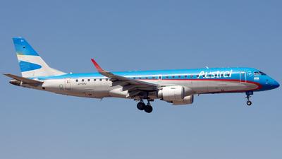 LV-CPJ - Embraer 190-100IGW - Austral Líneas Aéreas