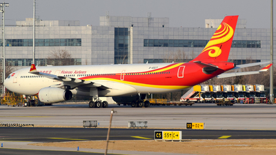A picture of B6527 - Airbus A330343 - Hainan Airlines - © cuttlefish