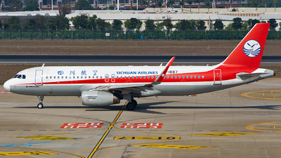 B-1887 - Airbus A320-232 - Sichuan Airlines