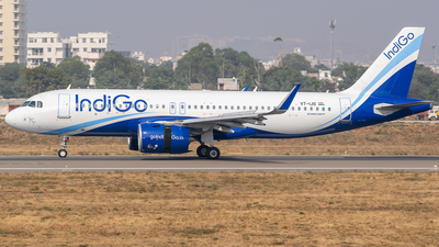 A picture of VTIJO - Airbus A320271N - IndiGo - © Rohan Paliwal