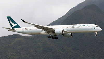 A picture of BLXH - Airbus A3501041 - Cathay Pacific - © *DaVe*