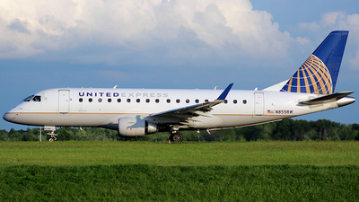 A picture of N855RW - Embraer E170SE - United Airlines - © Chrisjake - OPShots photo team