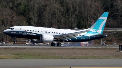 N7201S - Boeing 737-7 MAX - Boeing Company