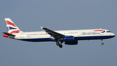 G-EUXJ - Airbus A321-231 - British Airways