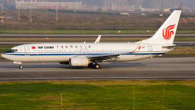 A picture of B1738 - Boeing 73789L - Air China - © ZUCKGYQ