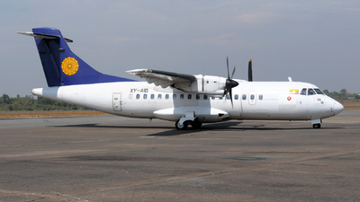 XY-AIB - ATR 42-320 - Myanma Airways