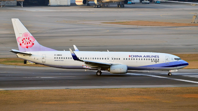 B-18662 - Boeing 737-8AL - China Airlines