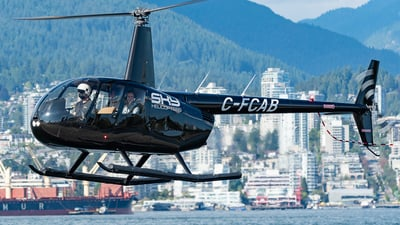 A picture of CFCAB - Robinson R44 II - [14338] - © Max Langley - Coastal Mountain Spotter