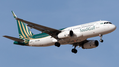 VP-CGW - Airbus A320-232 - SaudiGulf Airlines