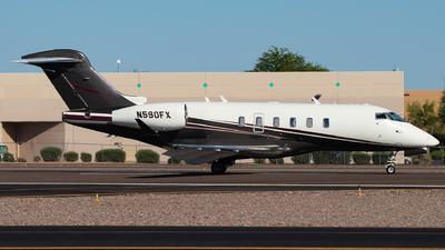 N590FX - Bombardier BD-100-1A10 Challenger 350 - Flexjet