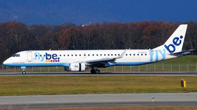 G-FBEA - Embraer 190-200LR - Flybe