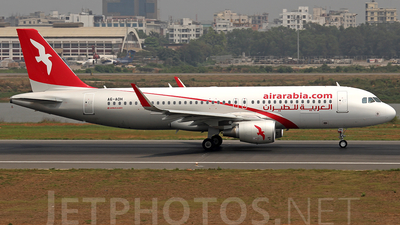A6-AOH - Airbus A320-214 - Air Arabia