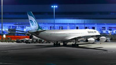 EP-MMC - Airbus A340-313X - Mahan Air