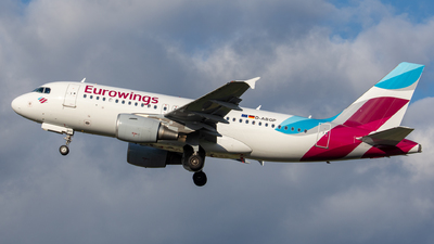 D-ABGP - Airbus A319-112 - Eurowings (Air Berlin)