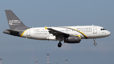 SU-NMD - Airbus A319-132 - Nesma Airlines