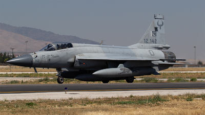 12-142 - Pakistan JF-17 Thunder - Pakistan - Air Force