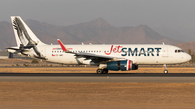 A picture of CCAWD - Airbus A320232 - JetSMART - © Kokee Rubilar