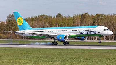 UK75704 - Boeing 757-231 - Uzbekistan Airways