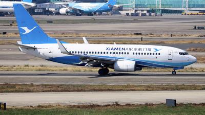 A picture of B5279 - Boeing 73775C - Xiamen Air - © nibrage