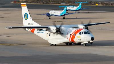 EC-KEM - CASA CN-235MPA - Spain - Sociedad de Salvamento y Seguridad Marítima (SASEMAR)