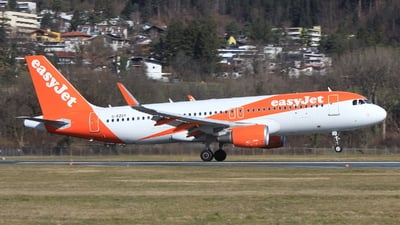 G-EZGY - Airbus A320-214 - easyJet