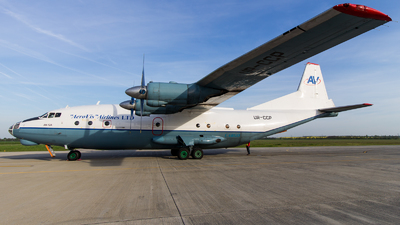 A picture of URCCP - Antonov An12A - Aerovis Airlines - © Tamás Terjék