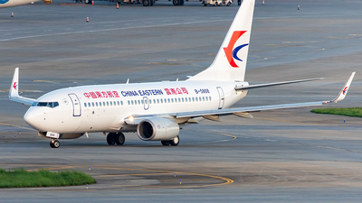A picture of B5808 - Boeing 73779P - China Eastern Airlines - © Yan Shuai
