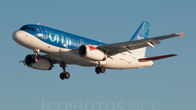 G-DBCJ - Airbus A319-131 - bmi British Midland International