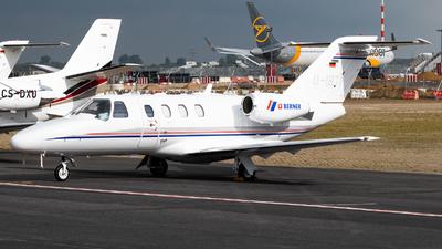 D-IBTI - Cessna 525 CitationJet 1 Plus - Private