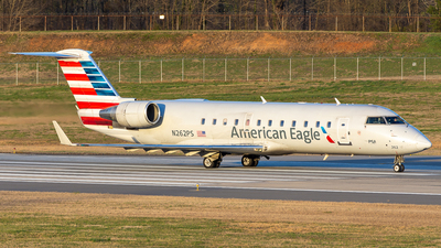 A picture of N262PS - Mitsubishi CRJ200ER - PSA Airlines - © Kevin R. Clemmons Photography
