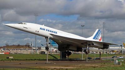 F-BVFF - Aérospatiale/British Aircraft Corporation Concorde - Air France