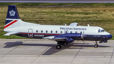 G-BGMN - Hawker Siddeley HS-748 Series 2A - British Airways