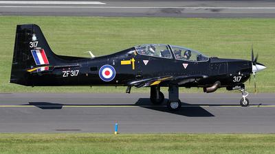 ZF317 - Short Tucano T.1 - United Kingdom - Royal Air Force (RAF)