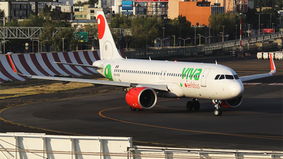 A picture of XAVIQ - Airbus A320271N - VivaAerobus - © Alejandro Aceves