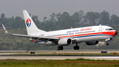 B-5858 - Boeing 737-89P - China Eastern Airlines